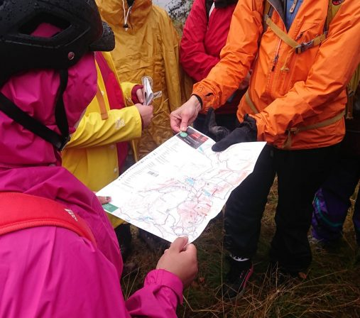 Orienteering and map practise