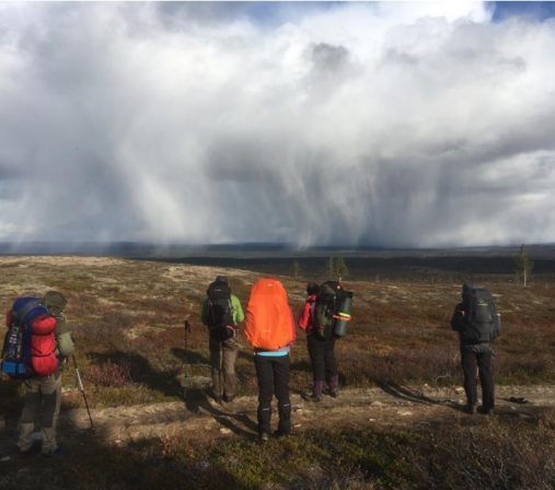 Mythical view from Outakka on a Lapland hike